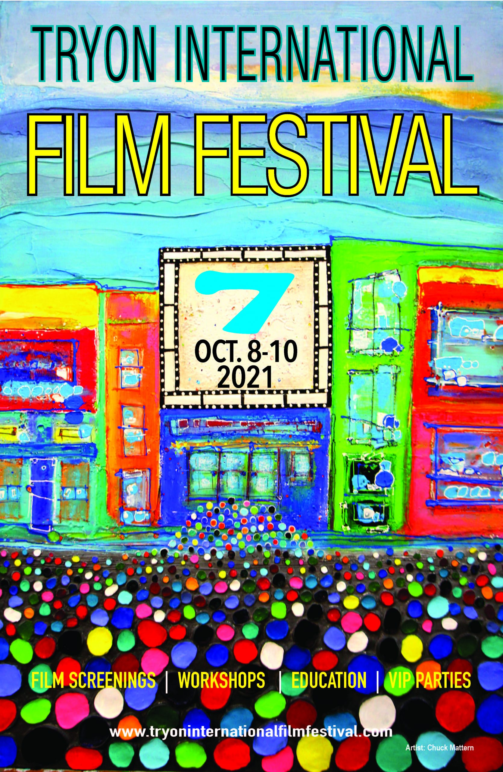 The official Tryon International Film Festival2021 Poster